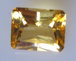 Golden Yellow Citrine Radient Cut, 2.75cts