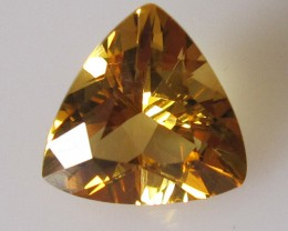 Golden Yellow Citrine Trillion Shape, 2.06cts