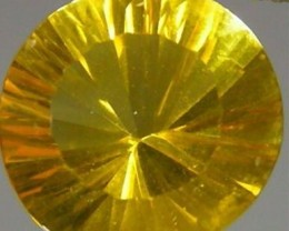 .70 CT. ROUND QUANTUM CUT FLUORITE GEM.