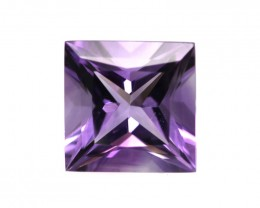 Amethyst Princess Cut, 7.7mm, 1.81cts