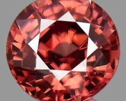 3.29 Cts NATURAL COMBODIAN PINK ZIRCON GEMSTONE