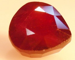 CERT 4.93 CTS FACETED  RED RUBY  11 1083