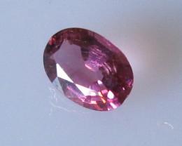 Beautiful Hot Pink Tourmaline Oval , 0.53cts