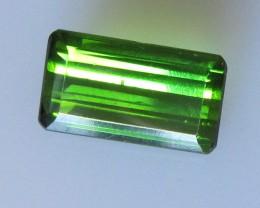 Green Tourmaline Emerald Cut, 1.93cts