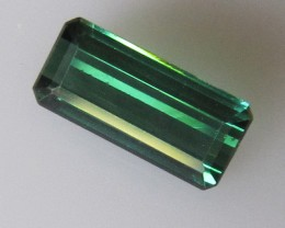 Blueish/Green Tourmaline Emerald Cut, 2.08cts