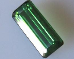 Green Tourmaline Emerald Cut, 2.28cts