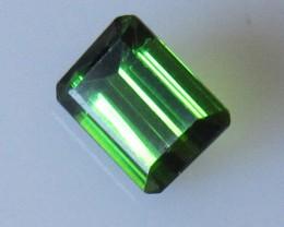 Green Tourmaline Emerald Cut, 1.62cts
