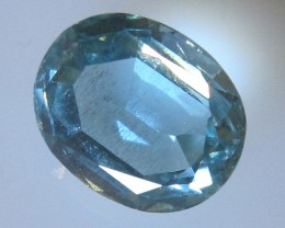 Natural Aquamarine Oval Cut, 4.28cts