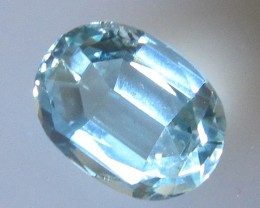 3.26cts Natural Aquamarine Oval Cut