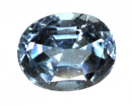 2.90cts Natural Aquamarine Oval Cut