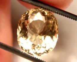 5.50 Carat VVS1 South American Golden Beryl - Beautiful