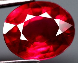 2.98 Carat VVS/VS Fiery Cherry Ruby - Gorgeous