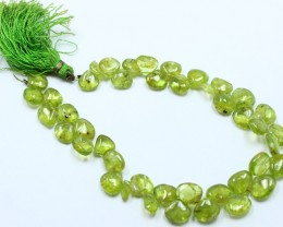 NATURAL STRAND OF PERIDOT