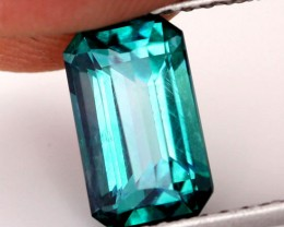 3.59 CTS EMERALD GREEN - SURFACE TREATED TOPAZ (SB731)