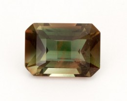 SALE WAS $6100 ~ 11.9ct Oregon Sunstone, Dichroic Rectangle (S195)