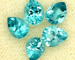 BLUE TOPAZ NATURAL FACETED (5 PCS) 2.50 CTS   PG-1446
