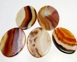 206 CTS FIVE 50X35 MM DI   UNIQUE CRAZY   AGATE   AGR 396