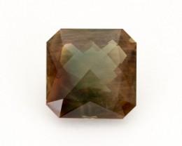 SALE WAS $17,500 ~ 17.1ct, Oregon Sunstone, Dichroic Square  (S227)