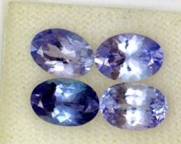 3.56 CTS PARCEL DEAL 7x5mm VVS TANZANITE STONE [SB758]