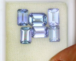 4.05 CTS PARCEL DEAL 7x5mm VVS TANZANITE STONE [SB770]