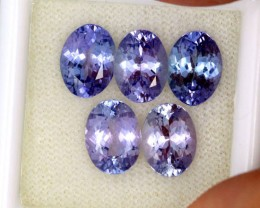 6.13 CTS PARCEL DEAL 8x6mm VVS TANZANITE STONE [SB772]