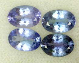 2.18 CTS PARCEL DEAL 6.5x4.5mm VVS TANZANITE STONE [SB775]
