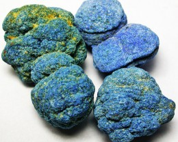 42.03 CTS PARCEL AZURITE BALLS  NATURAL SPECIMEN [MGW2617]