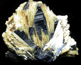 7.06 CTS RUTILE ON HEMATITE  SPECIMEN [MGW2676]