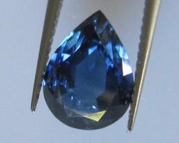 2.12cts Natural Australian Blue Pear Shape Sapphire