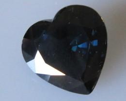 5.24cts Natural Australian Blue Heart Shape Sapphire