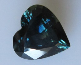 5.60cts Natural Australian Blue Heart Shape Sapphire
