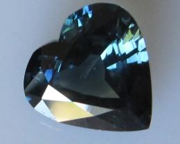 4.61cts Natural Australian Blue Heart Shape Sapphire