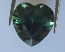 4.17cts Natural Australian Parti Colour Heart Shape Sapphire