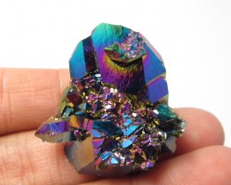 52.2 CTS  STUNNING TITANIUM TREATED CRYSTAL      MS1655