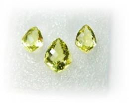 Natural Jewelery Set Lemon Quartz Stone Set J378