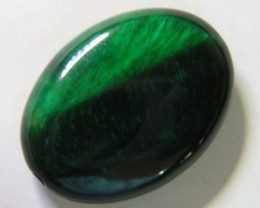 25 CTS TIGERS EYE DYED GREEN 11290