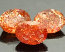 3.91 CTS PARCEL OF FIREY SUNSTONE FROM TANZANIA [SB863]