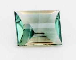 1.55ct Oregon Sunstone, Green Champagne Emerald Cut (S583) Sale!