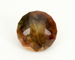 SALE WAS $12,400 ~ 12.1ct , Rootbeer Round Brilliant Oregon Sunstone(S220)