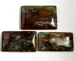 176 CTS THREE SEA JASPER GEMSTONES MS 1654