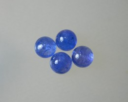 8x4mm 100% Natural Tanzanite Cab Stone J105