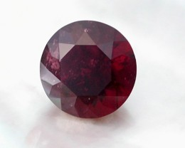 4.50ct PRECISION MASTERCUT DARK RED ALMANDITE GEM - GAMMA BRILLIANT