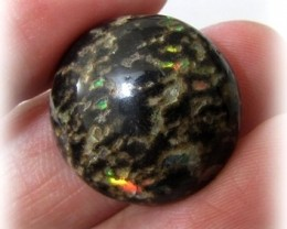 16.81ct Mexican LEOPARD OPAL Untreated Polished