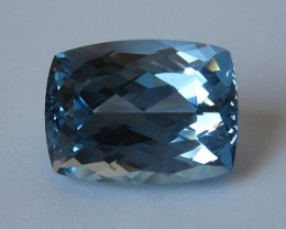 8.11cts Beautiful Blue Topaz Cushion