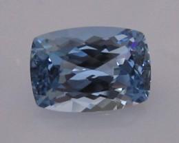8.84cts BEAUTIFUL BLUE TOPAZ CUSHION CUT