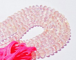 "10"" line AAA 5.5-6mm ROSE QUARTZ faceted beads"