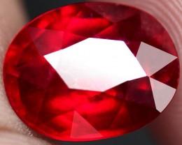6.94 Carat VS Cherry Ruby - Gorgeous