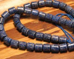 210cttw Beautiful Lapis Lazuli  49 Pieces Bead Parcel
