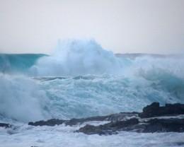 Wave in Hawaii.