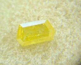 NATURAL-SOLITIARE -CANARY YELLOW DIAMOND- 1.02CTWSIZ-1PCS,NR